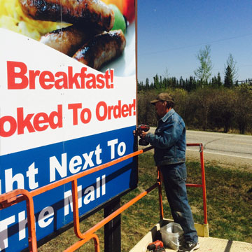 billboard-install-dawson-creek